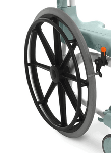 CLEAN Self-Propelled Commode - 24 inch Rear Wheels