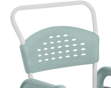 CLEAN Self-Propelled Shower Commode Chair - Back Support