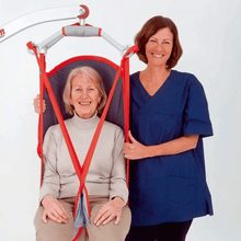 Carer Use - Molift RgoSling Highback Net - Patient Sling for Molift Lifts by ETAC | Wheelchair Liberty