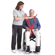 Carer Use - Molift RgoSling Mediumback Net - Patient Sling for Molift Patient Lifts by ETAC | Wheelchair Liberty