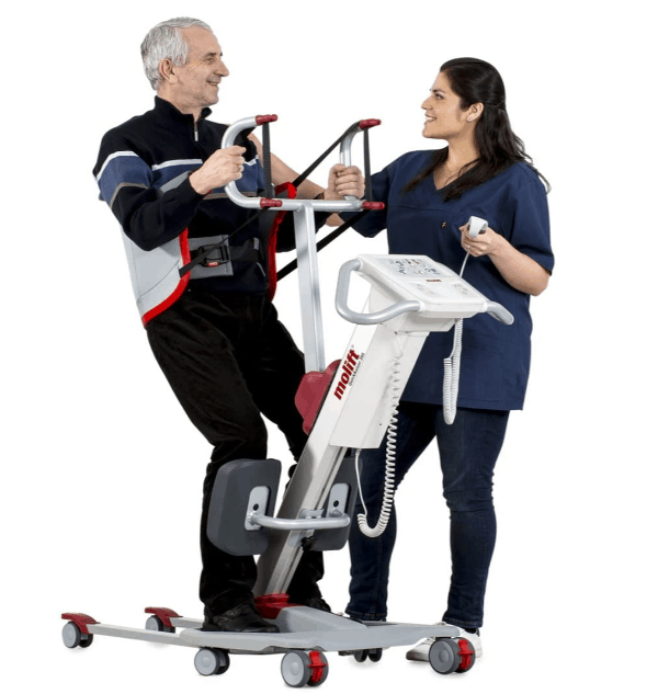 Carers USe For Stand Patient - Molift Quick Raiser 205 Sit-to-Stand Patient Lift N29000 by ETAC | Wheelchair Liberty