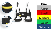 Color Size Indication - Rehab Total Support System Walking Sling By Handicare | Wheelchair Liberty