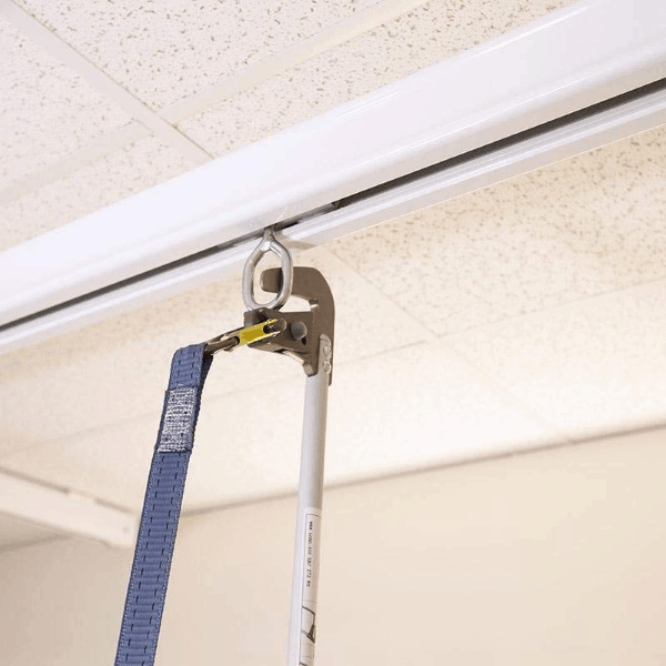 Connection - Fixed or Adjustable Lanyard Portable Ceiling Lifts