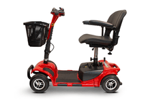 EW-M34 Travel Electric Scooter - Left Side View - Red