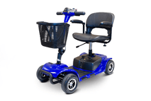 EW-M34 Travel Electric Scooter - Quarter Left Side View - Blue