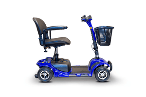 EW-M34 Travel Electric Scooter - Right Side View - Blue