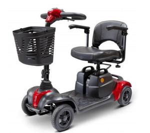 EW-M39 Portable Comfort Electric Scooter -  Red Left Side