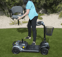 EW-M39 Portable Comfort Electric Scooter -  Seat Disassemble