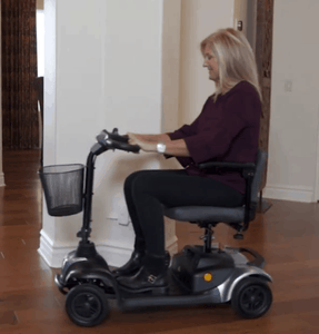 EW-M39 Portable Comfort Electric Scooter - Used By Lady