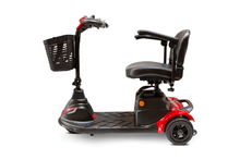 EW-M40 Portable Electric Scooter - Left Side View - Red