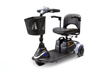 EW-M40 Portable Electric Scooter - Quarter Left Side Silver
