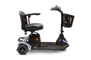EW-M40 Portable Electric Scooter - Right Side - Silver