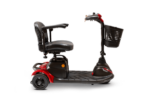 EW-M40 Portable Electric Scooter - Right Side View - Red