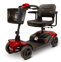 EW-M41 Portable Electric Scooter - Quarter Left Side - Red