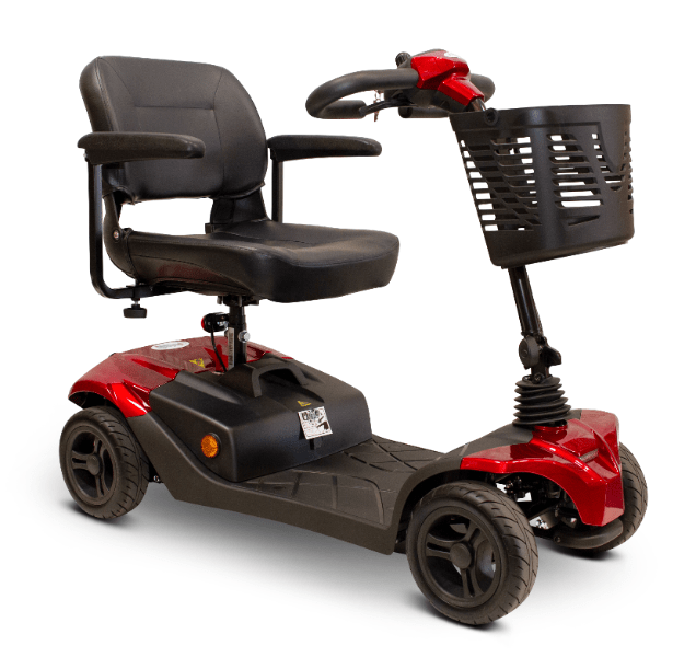 EW-M41 Portable Electric Scooter - Quarter Right Side - Red