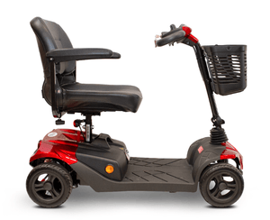 EW-M41 Portable Electric Scooter - Right Side - Red