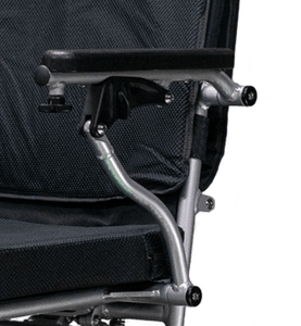 EW-M45 Folding Power Wheelchair Adjustable Armrest