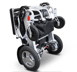 EW-M45 Folding Power Wheelchair Folded Bottom Part