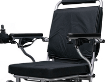 EW-M45 Folding Power Wheelchair Seat with Armrest