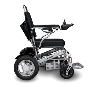 EW-M45 Folding Power Wheelchair Side Silver
