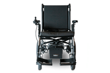 EW-M47Folding Power Wheelchair Full Front View Silver