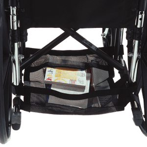 EZ-ACCESSORIES Wheelchair Underneath Carrier Back Side View