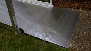 End Plate - PATHWAY® 3G Modular Access System Solo Kits Wheelchair Ramp by EZ-ACCESS® | Wheelchair Liberty