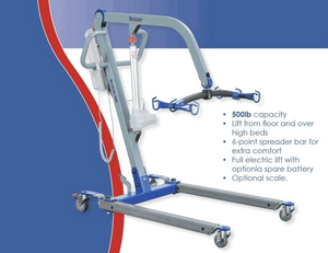 Features - The BestLift™ PL500 | FULL BODY PRO PATIENT ELECTRIC LIFT by Best Care LLC | Wheelchair Liberty