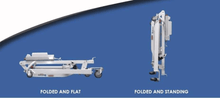 Folded Positions - The BestLift™ PL400EF | FULL BODY ELECTRIC FOLDABLE PATIENT LIFT by Best Care LLC | Wheelchair Liberty