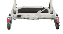 Foot Pedal and Lockable Back Caster - Protekt® Dash - Standing Transfer Aid - 32500 - By Proactive Medical | Wheelchair Liberty