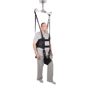 Front - Rehab Total Support System Walking Sling By Handicare | Wheelchair Liberty