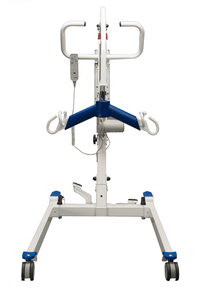 Front View - Protekt® Take-A-Long - Folding Electric Hydraulic Powered Patient Lift 400 lb by Proactive Medical | Wheelchair Liberty
