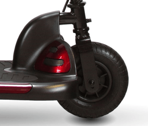 Front Wheels - Dasher 3 3-Wheel Electric Scooter by Shoprider | Wheelchair Liberty