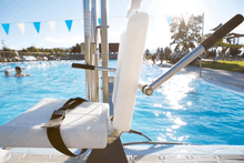 Gallatin Water-Powered Pool Lift WP 400 ADA Compliant  - Fill-Up Arms
