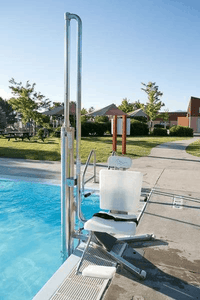 Gallatin Water-Powered Pool Lift WP 400 ADA Compliant  Full Image