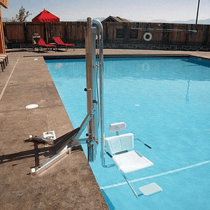 Gallatin Water-Powered Pool Lift WP 400 ADA Compliant