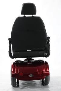 Gemini Power Rear-Wheel-Drive Wheelchair P301 - Red Rear Side