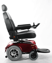 Gemini Power Rear-Wheel-Drive Wheelchair P301- Red Rightside View