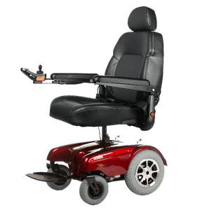 Gemini Power Rear-Wheel-Drive Wheelchair P301 - Red