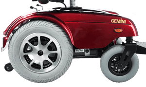 Gemini Power Rear-Wheel-Drive Wheelchair P301 - Wheels