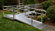 Hassle Free Design And Quick And Efficient Installation - PATHWAY® 3G Modular Access System Solo Kits Wheelchair Ramp by EZ-ACCESS® | Wheelchair Liberty  PATHWAY® 3G Modular Access System Solo Kits Wheelchair Ramp by EZ-ACCESS® | Wheelchair Liberty