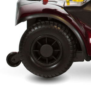 HInd Tires With Anti Tipping Wheels - Dasher 3 3-Wheel Electric Scooter by Shoprider | Wheelchair Liberty