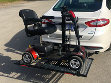 Hold N' Go Electric Lift for Scooters and Power Chairs by Wheelchair Carrier | Wheelchair Liberty