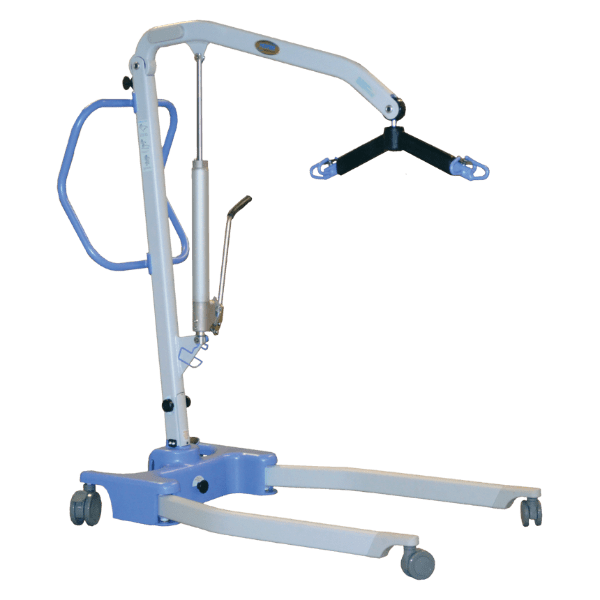 Hoyer Advance-H Portable Manual Hydraulic Patient Lift by Joerns | Wheelchair Liberty