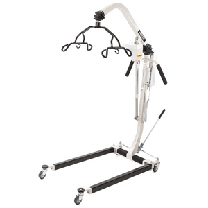 Right Angle View - Hoyer HPL402 Classic Deluxe Power Patient Lift by Joerns | Wheelchair Liberty