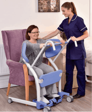 Hoyer® Up Sit-to-Stand Patient Transfer Lift - Carer Use 1