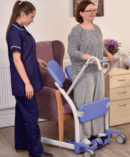 Hoyer® Up Sit-to-Stand Patient Transfer Lift - Carer Use 4