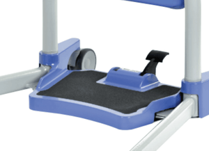Hoyer® Up Sit-to-Stand Patient Transfer Lift - foot Plate And Leg Open and Close Pedals