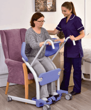 Hoyer® Up Sit-to-Stand Patient Transfer Lift - Carer Use 2