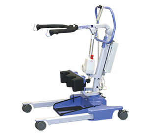 Hoyer Ascend Compact Adjustable Pro Electric Patient Lift by Joerns - Includes Free Sling! - Wheelchair Liberty